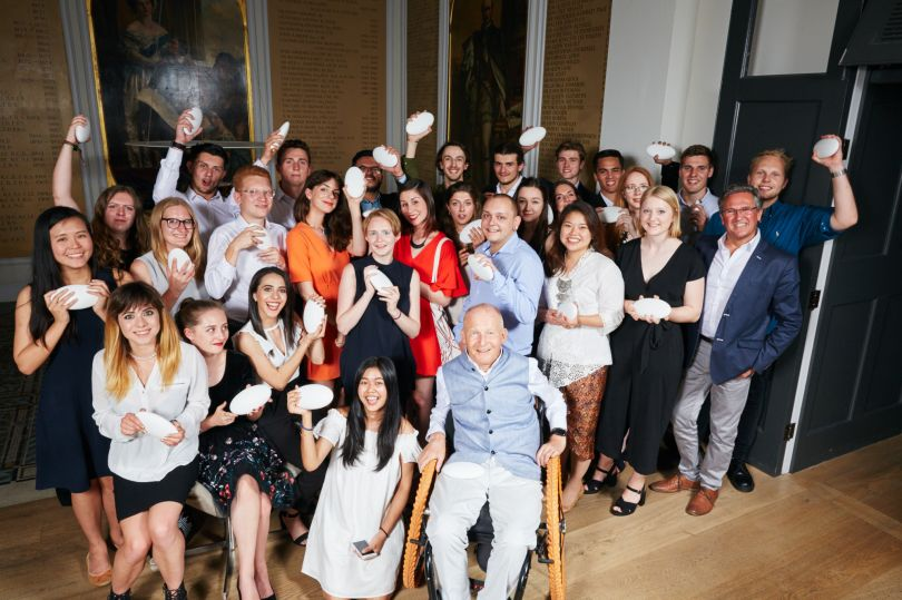 RSA Student Design Awards Class of 2017 with David Constantine and Clive Grinyer