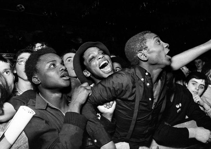 Specials fans, Potternewton Park, Leeds 1981