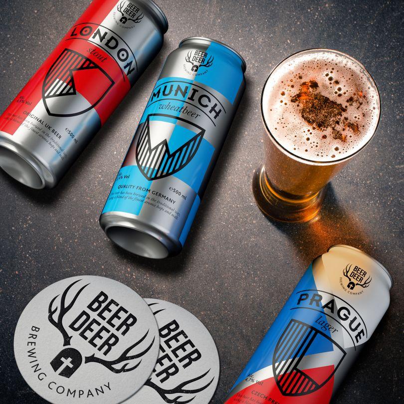 Beer Deer Packaging Concept by Dmitry Kultygin is Winner in Packaging Design Category, 2018 - 2019