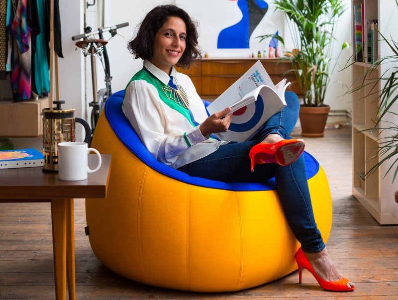 Malika Favre on bright colours, drawing naughty things and how to grow as an illustrator | Creative Boom