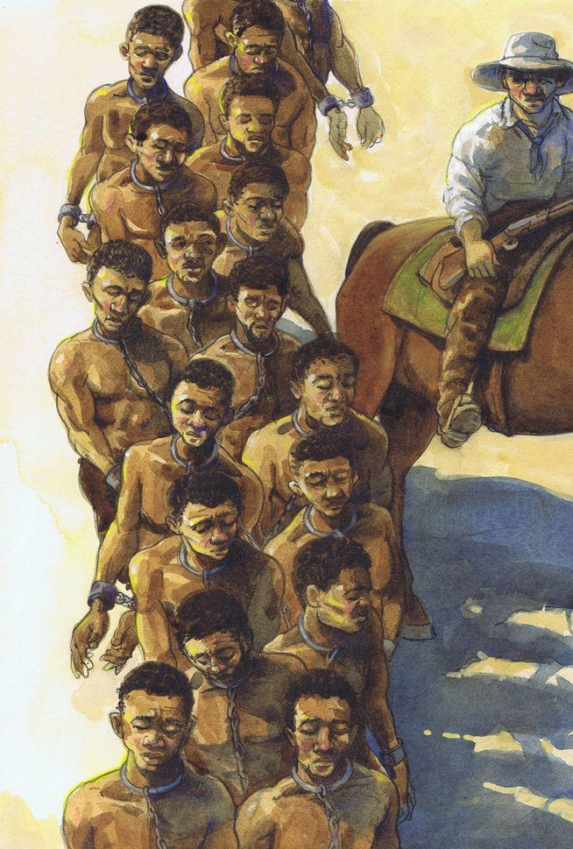 BOOK ILLUSTRATION James Ransome - Kindred 2