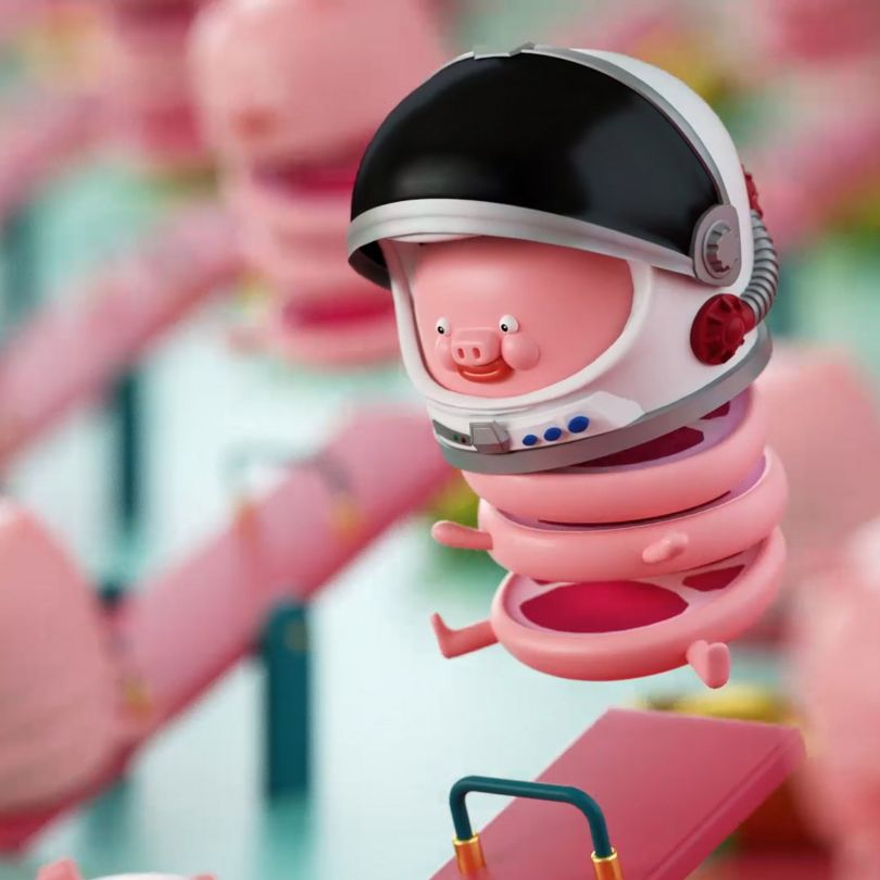 The Simplest Happiness Commercial Animation by Yen C Chen is Winner in Movie, Video and Animation Design Category, 2019 - 2020