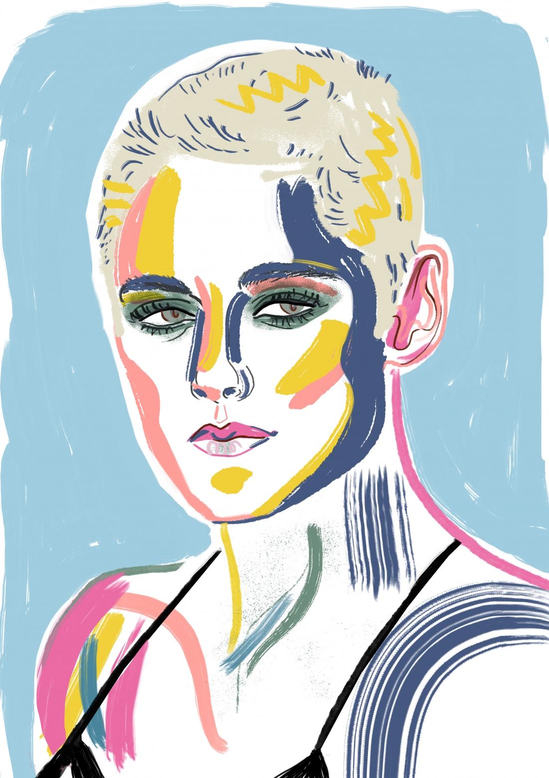 Beautiful editorial illustrations by Sarah Tanat Jones