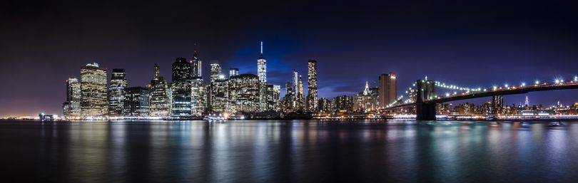 'Panorama of Downtown Manhattan, New York' by Peter Sampson/Photocrowd.com - NYC, United States