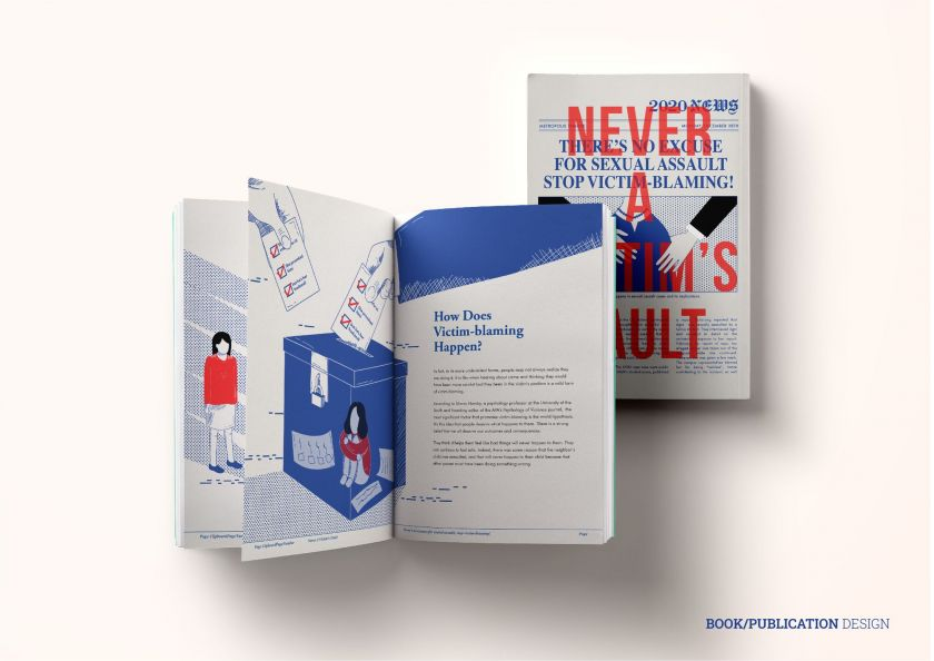 Discovery of the Year: Never A Victim's Fault by Tiffany Gouw