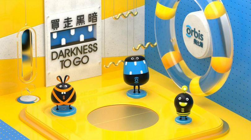 Darkness To Go 3D Animation by Ben Cheong for Orbis. Golden A' Design Award Winner in the Movie and Animation Design Category.
