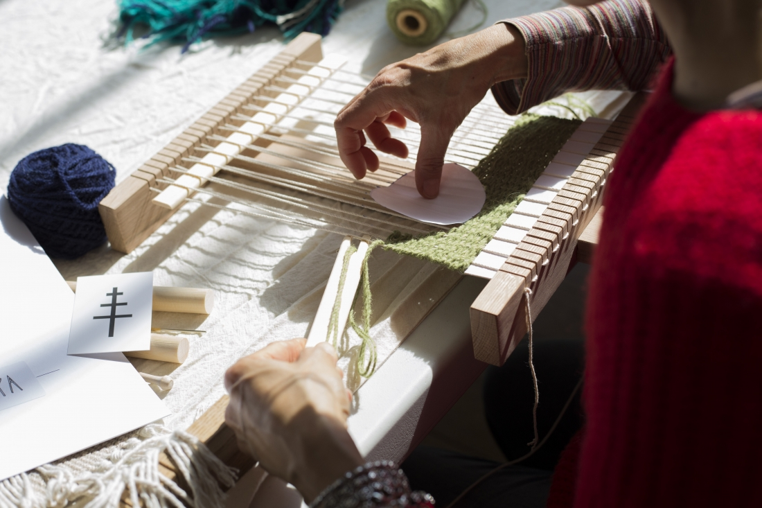 Weaving with Christabel Balfour