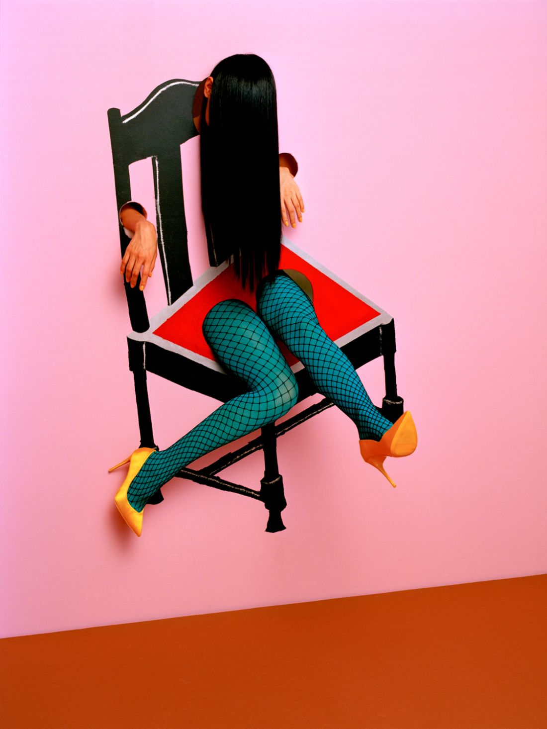 Theatrical photographs by Kuzma & Ajuan inspired by Magritte, Van Gogh, Picasso and Dali