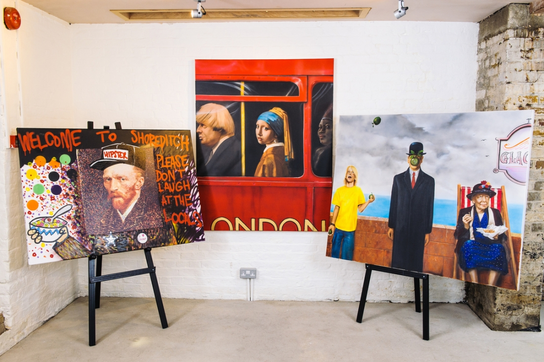 Famous Paintings Given A Modern Twist By Acclaimed London Artists
