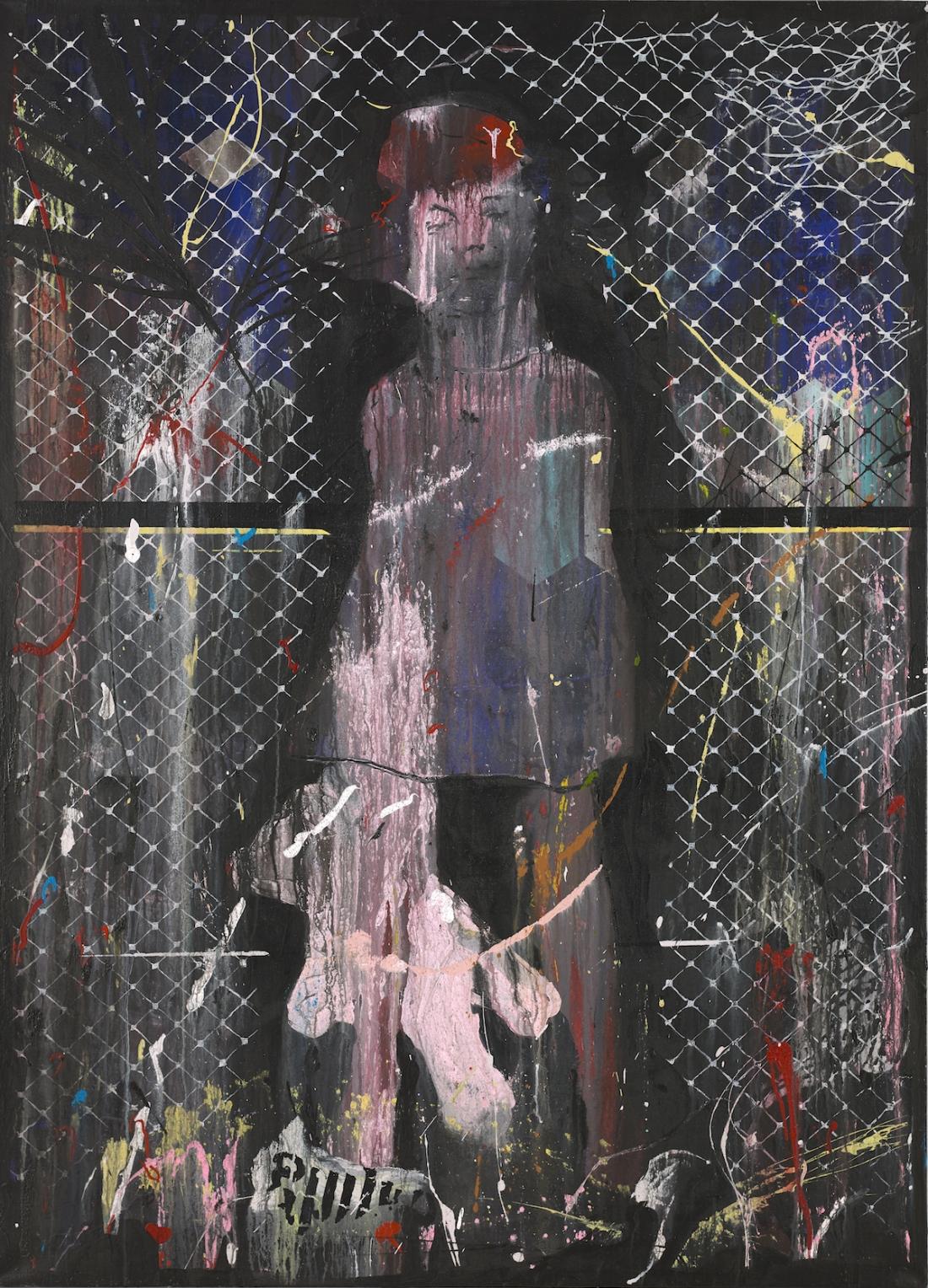 Sleepwalk II - Girl By A Fence | Dan Baldwin | Maddox Gallery
