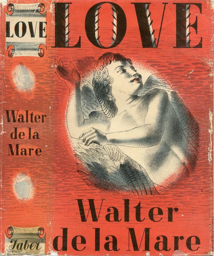 Barnett Freedman, 'Love' by Walter de la Mare, 1943, Book jacket, Manchester Metropolitan University Special Collections © Barnett Freedman Estate