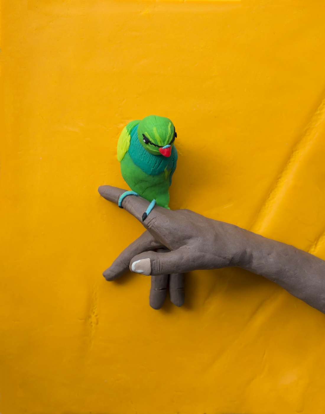 Original photograph: From 'The Lost Head & The Bird' by Sohrab Hura rendered in Play-Doh © Eleanor Macnair