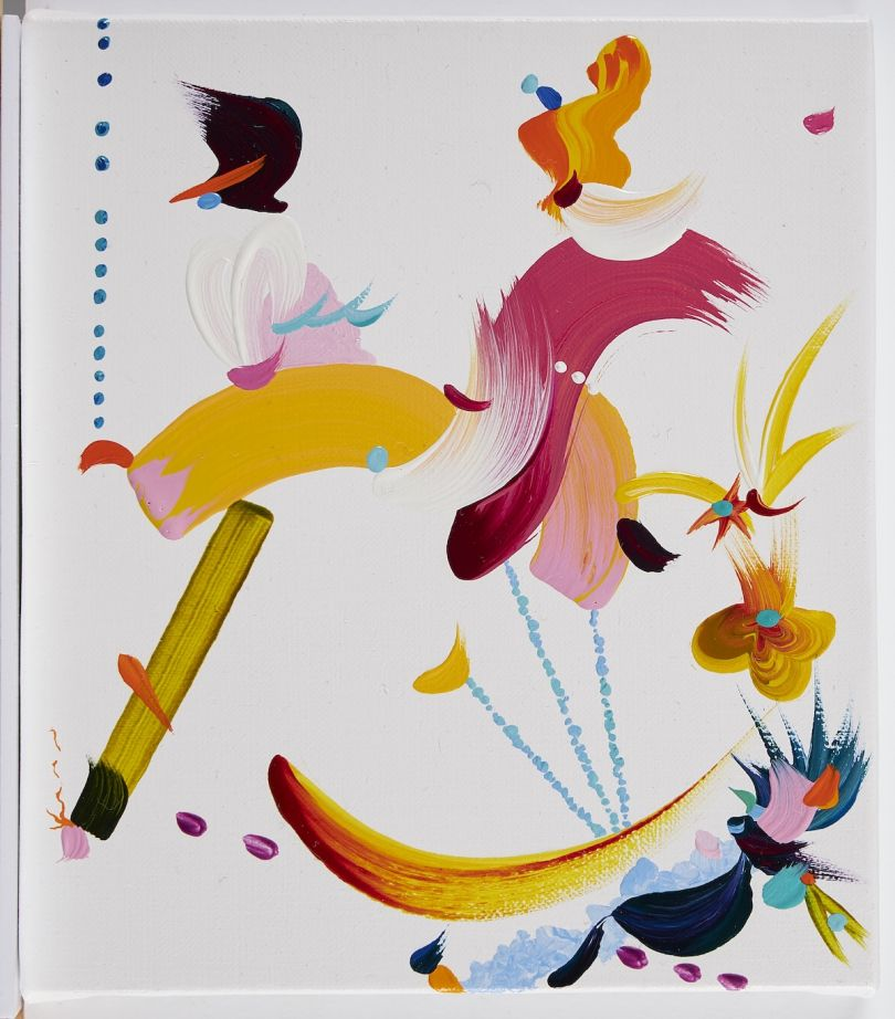 Fiona Rae, Abstract 01, 2020 © Fiona Rae