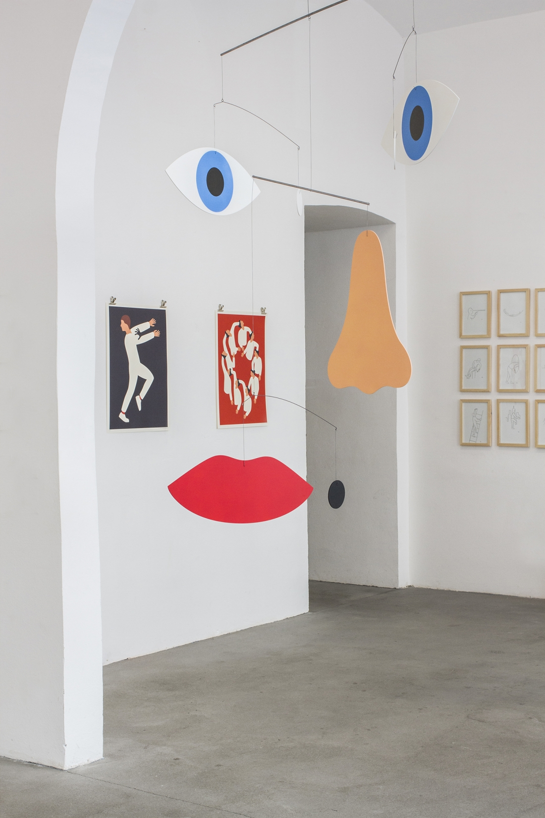 Portraits, Process and Installation Views of 'Alternate Realities' at T/abor Gallery in Vienna