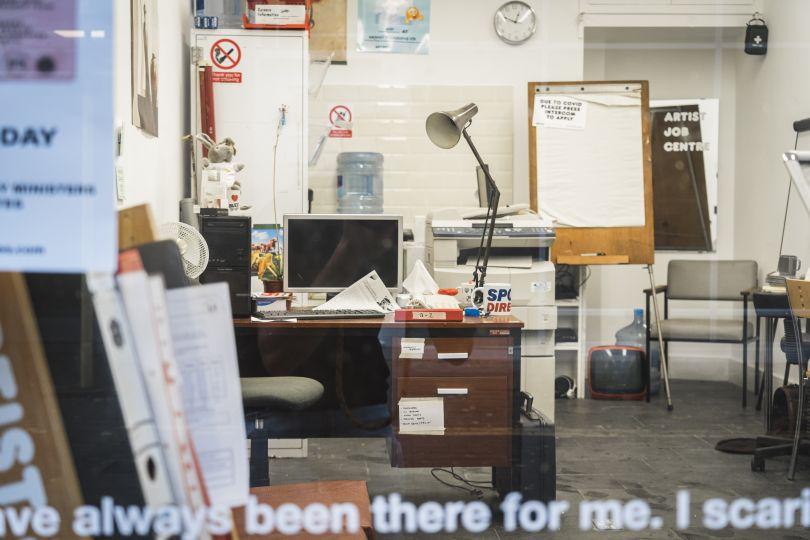 Stuart Semple, Artist Job Centre. Photo: Jamie James