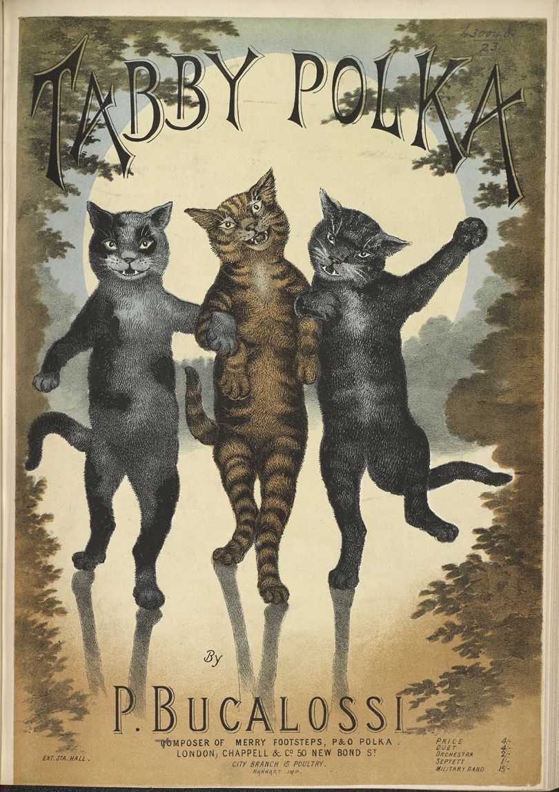 Tabby Polka by P- Bucalossi, 1865 (c) The British Library Board