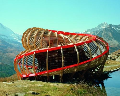 Evolver, Zermatt, Switzerland, Alice Studio/EPFL, 2009. Picture credit: © Joel Tettamanti/ALICE Studio EPFL