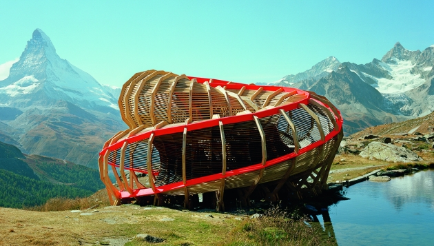 Evolver, Zermatt, Switzerland, Alice Studio/EPFL, 2009. Picture credit: © Joel Tettamanti/ALICE Studio EPFL