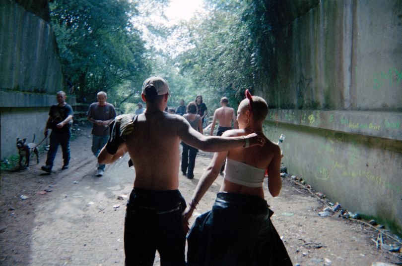 Ben and Nina, Exodus rave, UK 1999 © Seana Gavin