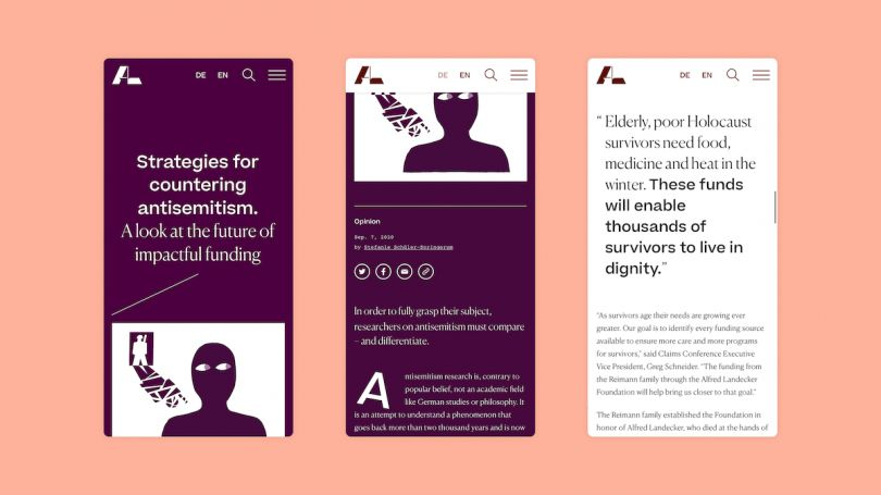 A new visual identity to 'defeat hatred and apathy in a digital age'