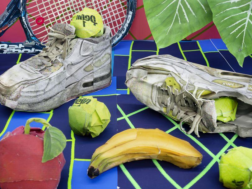 Still Life with Tennis Balls and Racket © Daniel Gordon