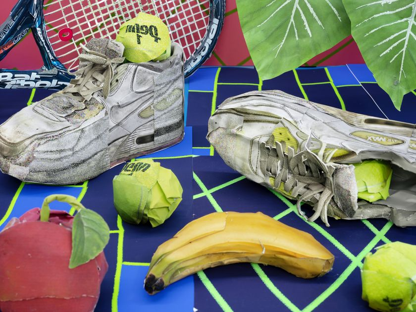 Still Life with Tennis Balls and Racket © Daniel Gordon