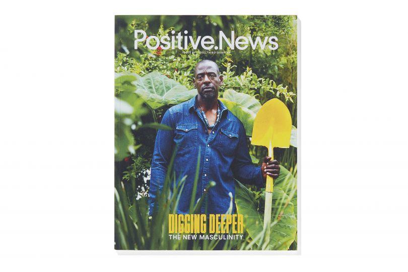 Positive News Issue 90 Third Quarter 2017 NEW MASCULINITY © Positive News Magazine/ Paul Gorman Archive/Photography: Theo Jemison