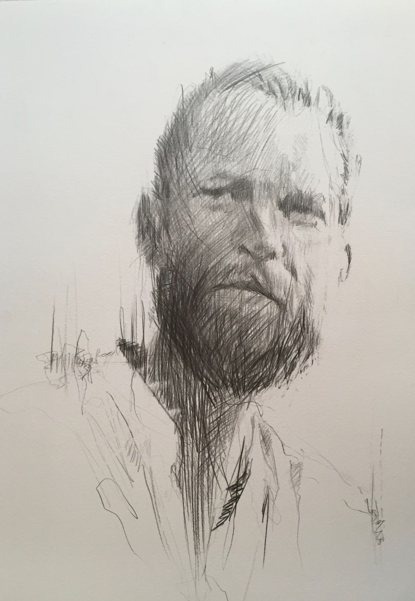 Tom Moore by Carne Griffiths