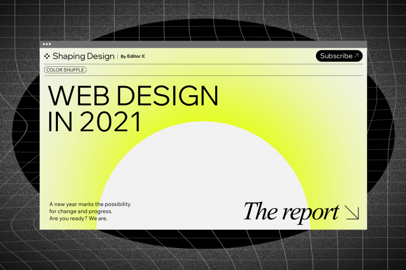 The biggest web design trends set to dominate in 2021