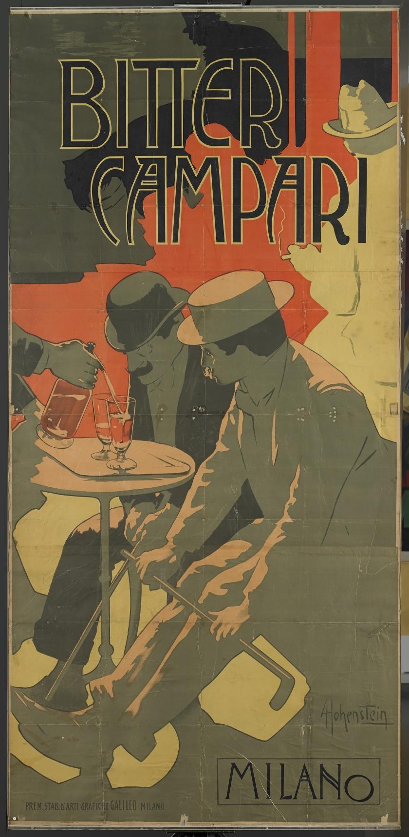 Adolf Hohenstein, Bitter Campari, 1901