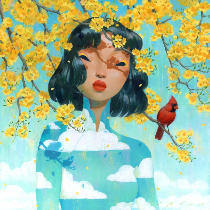 Xuan © Bao Pham. All images courtesy of Corey Helford Gallery and the artists