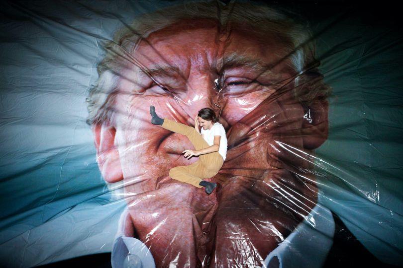 Jump Trump, Erik Kessels/Photo Pleasure Palace, Unseen Amsterdam