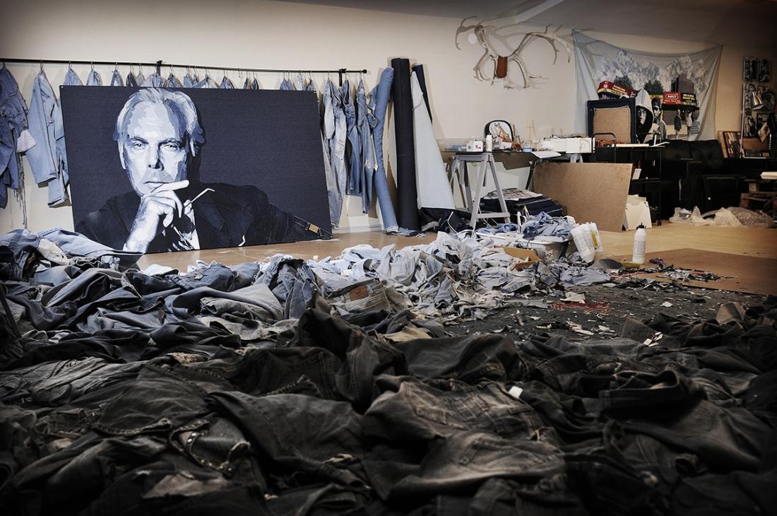 Giorgio Armani © Ian Berry