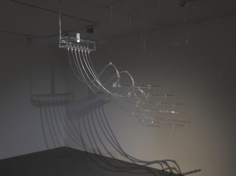 Cerith Wyn Evans, Interlude (A=D=R=I=F=T), 2011/2014, Mixed media. © Cerith Wyn Evans. Photo © White Cube (Ben Westoby). Courtesy White Cube
