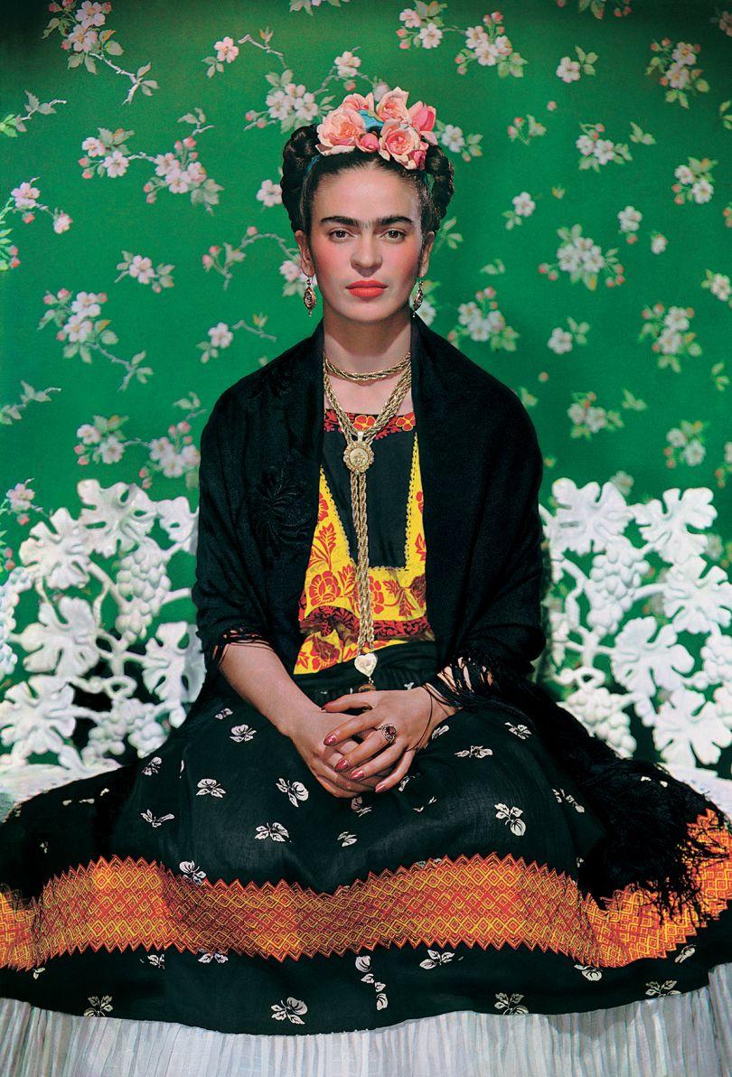 Frida on the bench, 1939, photograph by Nickolas Muray © Nickolas Muray Photo Archives