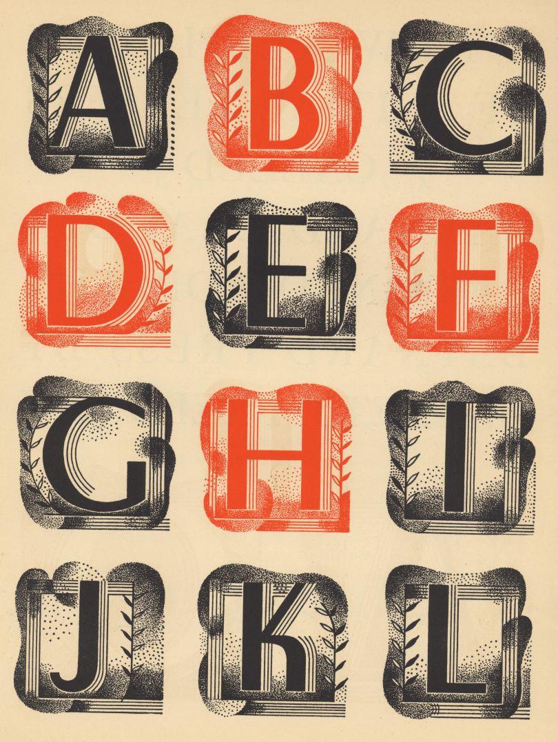 Barnett Freedman, Baynard Claudia Book, 1935, Manchester Metropolitan University © Barnett Freedman Estate