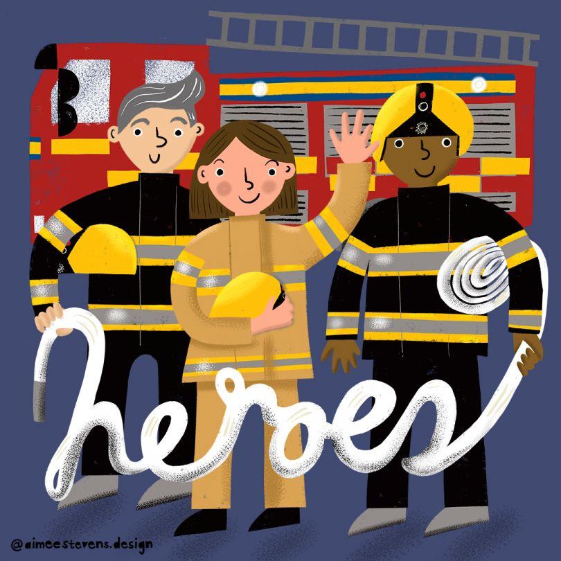 Firefighters © Aimee Stevens