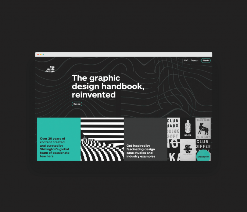 Graphic Design of the Year: Shillington Education by Anthony Wood, Shanti Sparrow and Emily Comfort