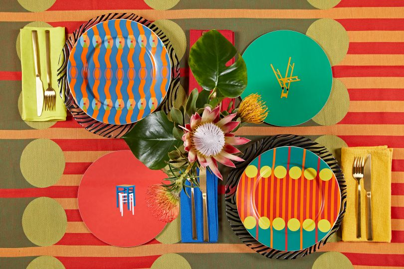 Yinka Ilori Homeware collection. Photography by Andy Stagg