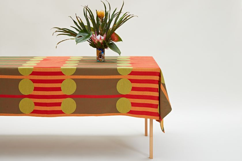 AAMI Tablecloth by Yinka Ilori. Photography by Andy Stagg