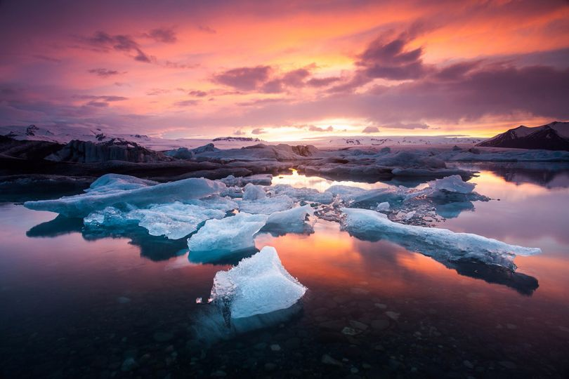 'A Song of Ice and Fire' by Nick Tsiatinis/Photocrowd.com - Iceland