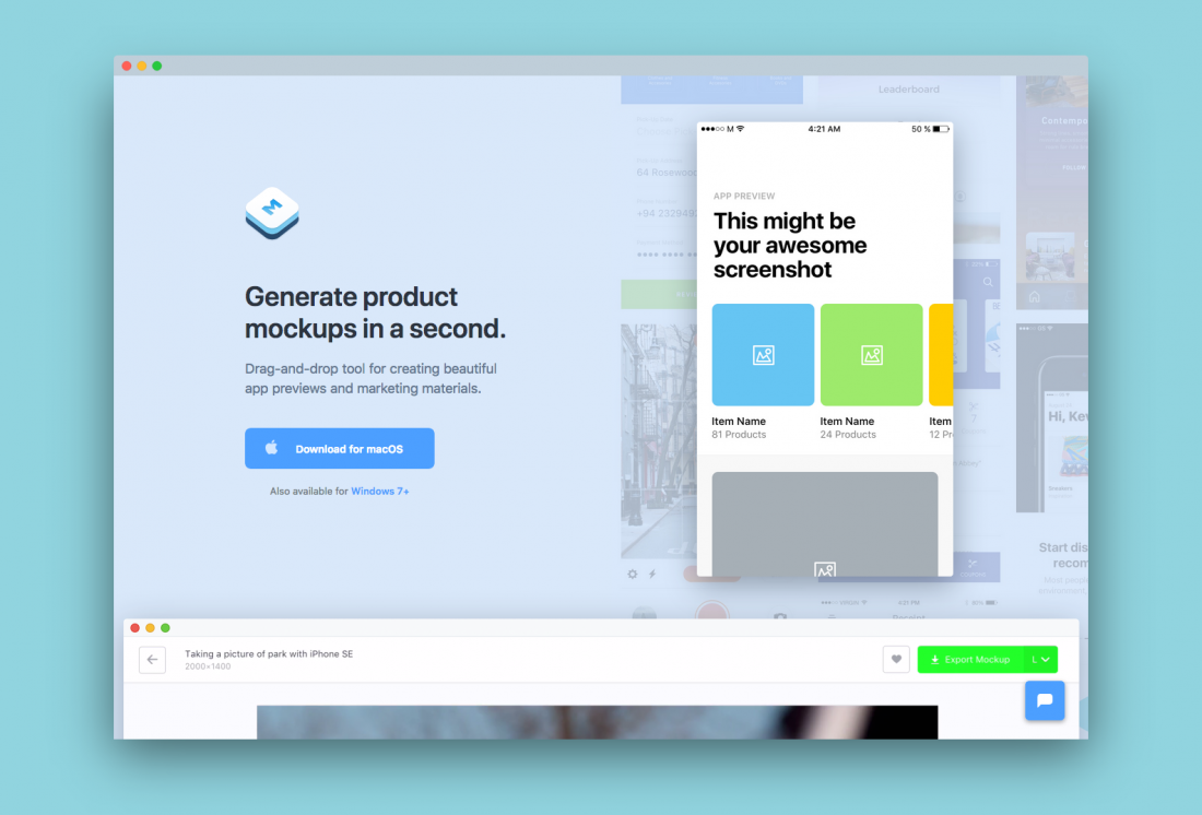 10 online tools to help you make quick mockup images of