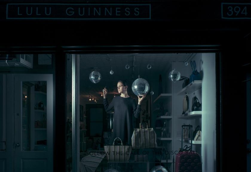 Katharina, actress & salespeople at a fashion handbag retailer
