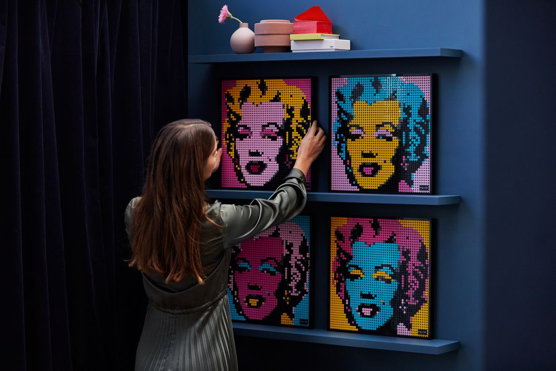 Lego's Art Range Lets You Build Portraits of Famous People