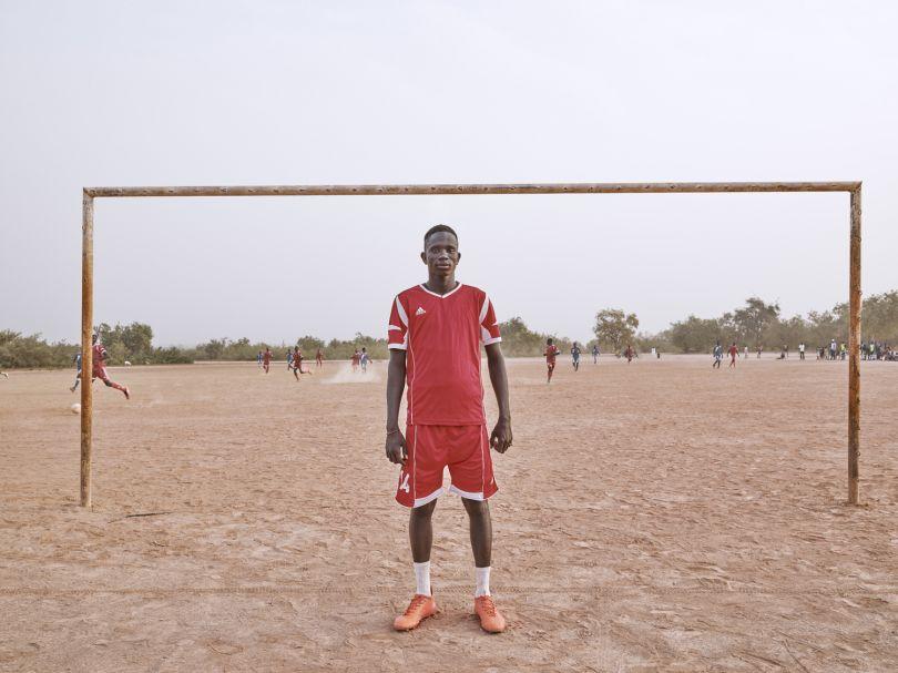 Mbaye Ndong - Football Player © Giovanni Hänninen