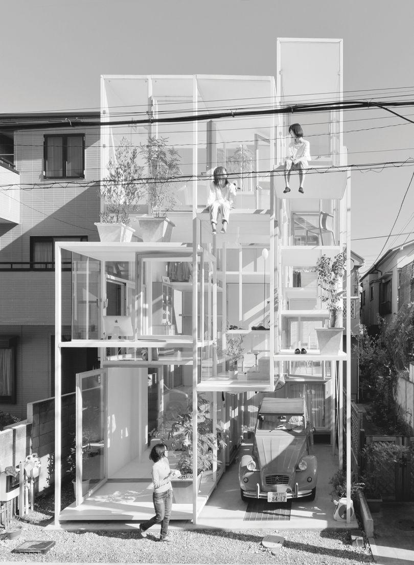 Sou Fujimoto Architects: House NA, Tokyo, Japan, 2010. Picture credit: Iwan BeaN Studio