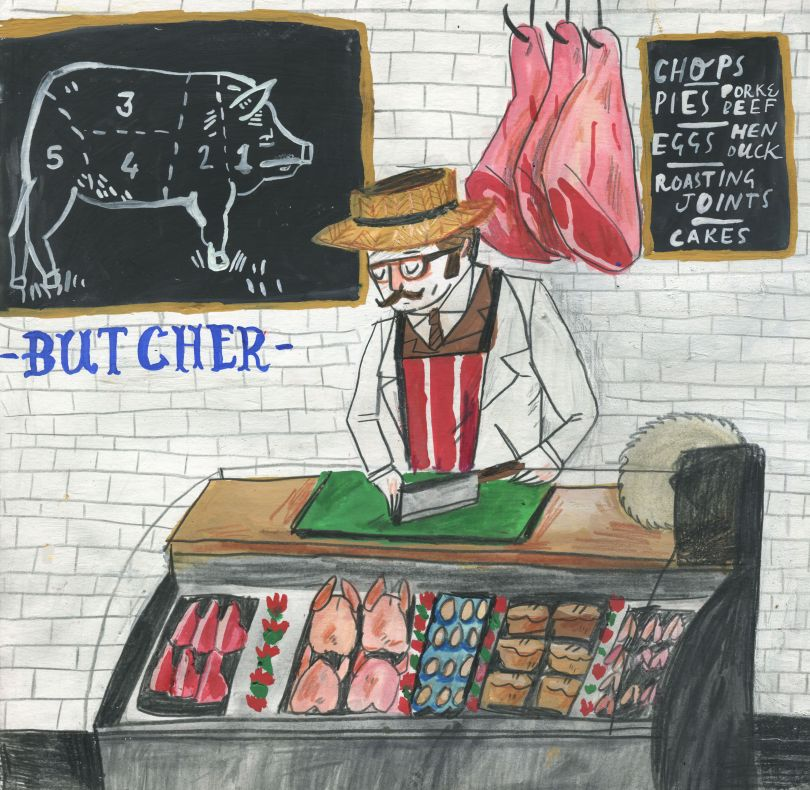Butchers © Dick Vincent