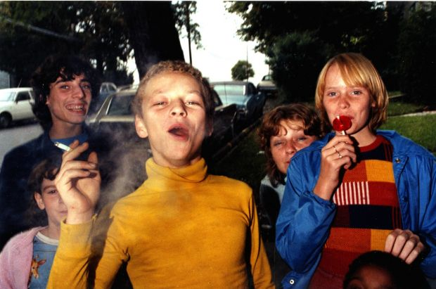 Boy In Yellow Shirt Smoking, 1976 © Mark Cohen. Via Creative Boom submission. All images courtesy of the artist.