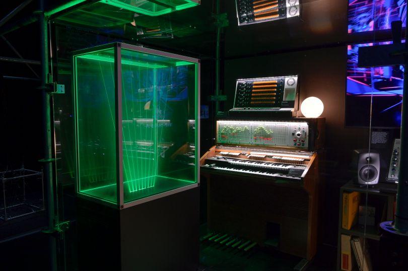 Jean Michel Jarr's virtual studio. Photo credit - Gil Lefauconnier