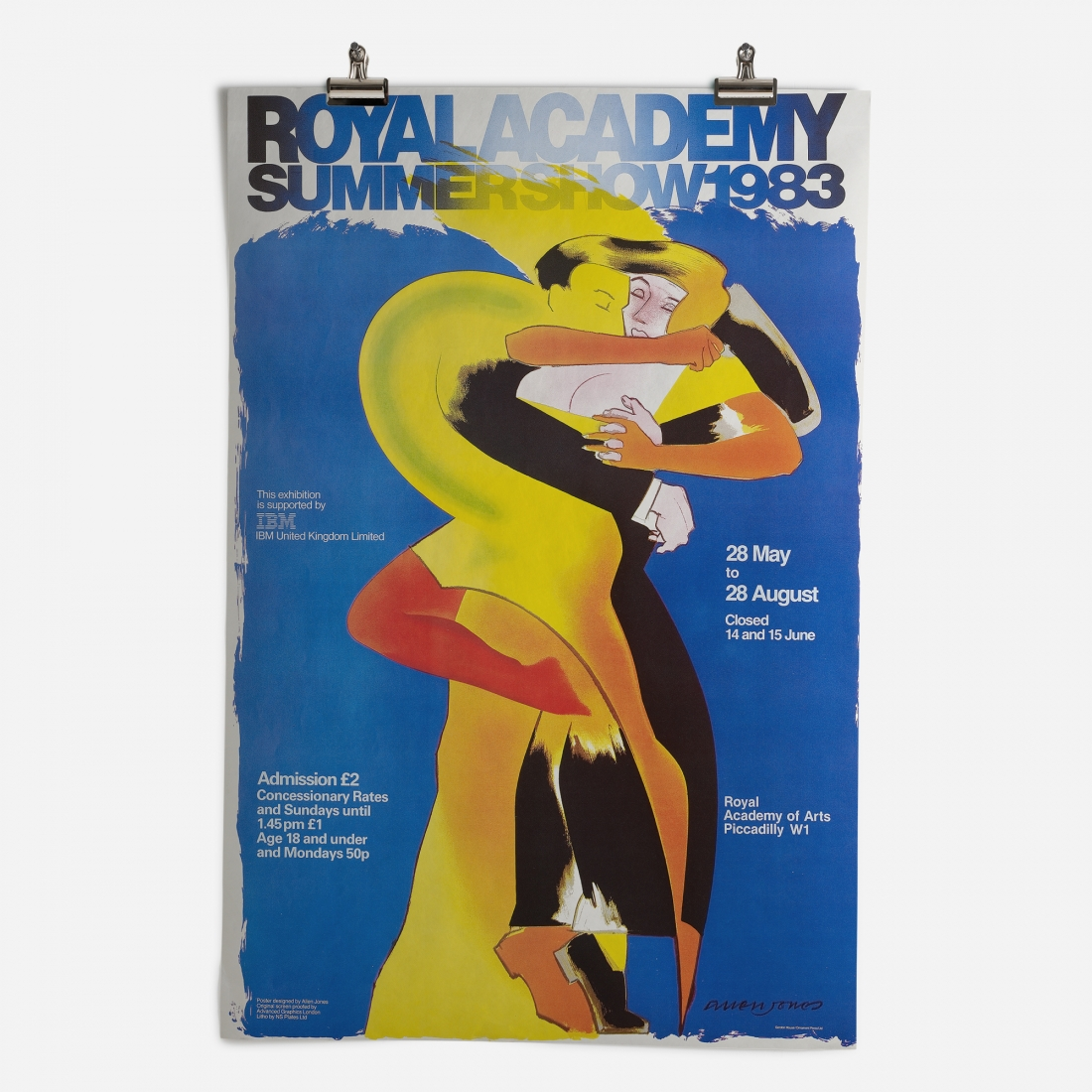 RA Summer Exhibition 1983 Epic Poster ​from the Royal Academy of Arts Collection